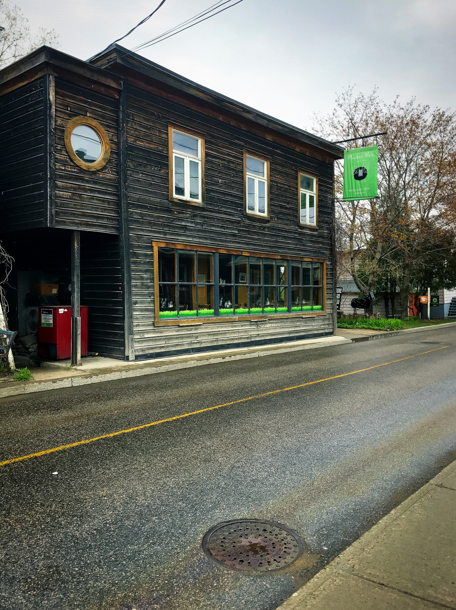 Mouton Noir is one of the best places to eat in Baie Saint Paul, Charlevoix Quebec.