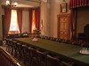 The Meeting Room<br /> (Converted to a ballroom for the after meeting balls, the band was on the balcony above the window)