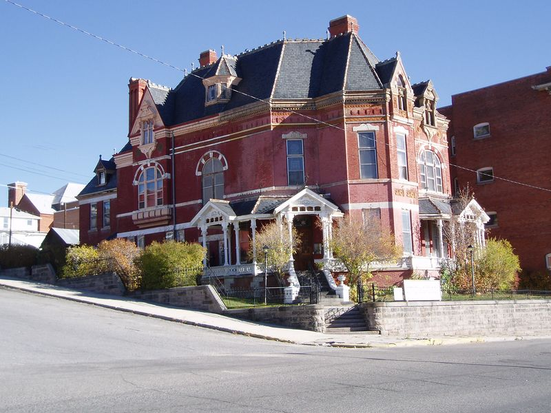 Copper King Mansion-downtown Butte.
