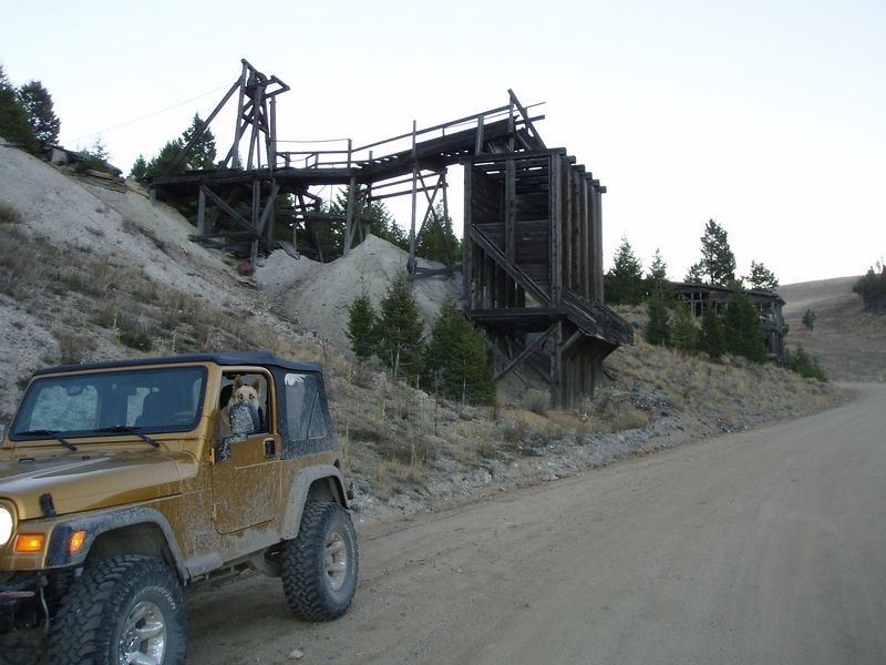 The original Comet mine from the late 1800's.