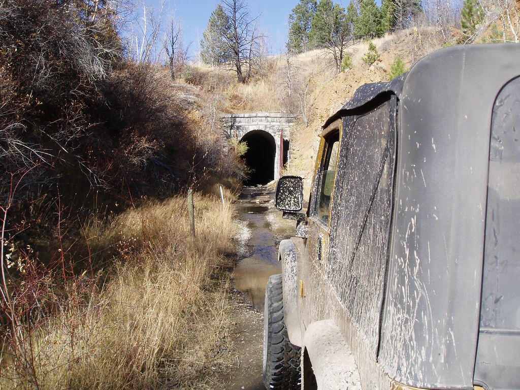 The southern end of the Boulder railroad tunnel.