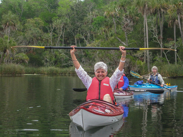 Chassahowitzka River Kayak Tour, March 2014