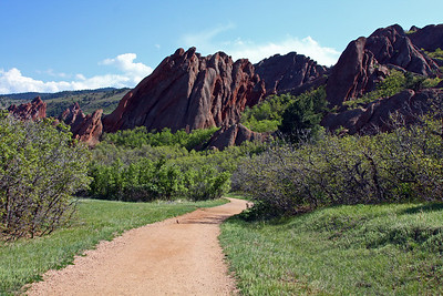 Roxborough State Park. On the way to the Fountain Valley Overlook.