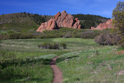 Willow Creek Trail scenery.