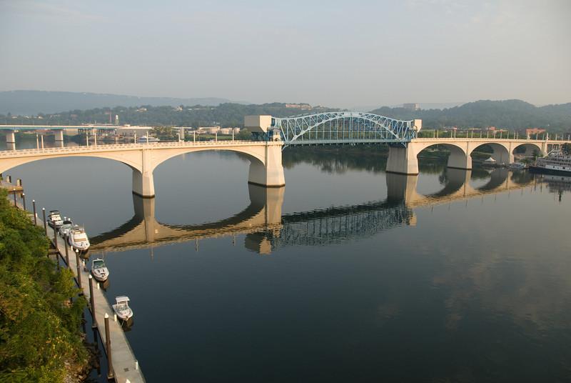 Reflection of the John Ross Bridge