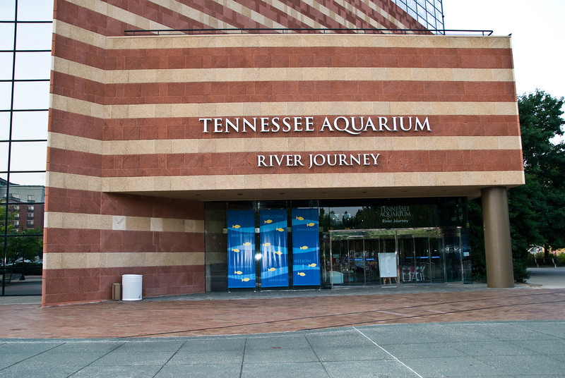 Entrance to the Tennessee Aquarium - River Journey