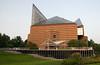 The backside of Tennessee Aquarium