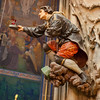 Beautiful details of St Vitus Cathedral at Hradcany