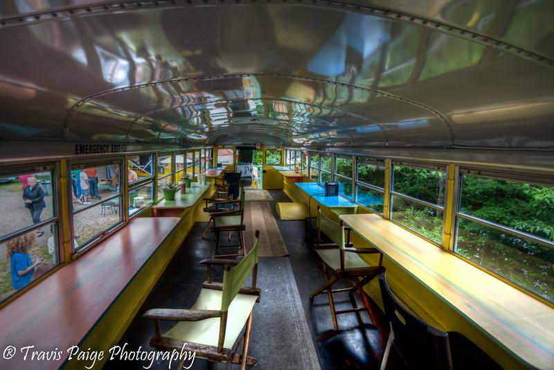 Chef Brad's Inside the bus