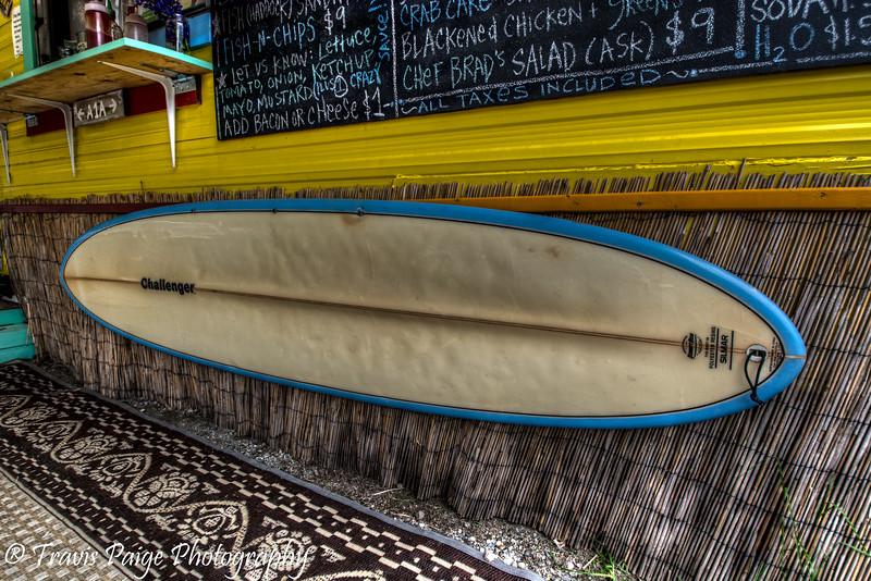 Chef Brad's Surfboard