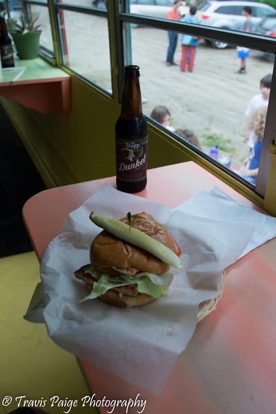 Chef Brad's Salmon Sandwich
