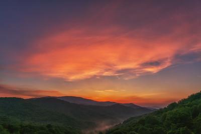Cherohala Sunrise