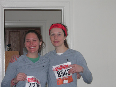 Post-run...our overall time = 1hr, 32 mins :)