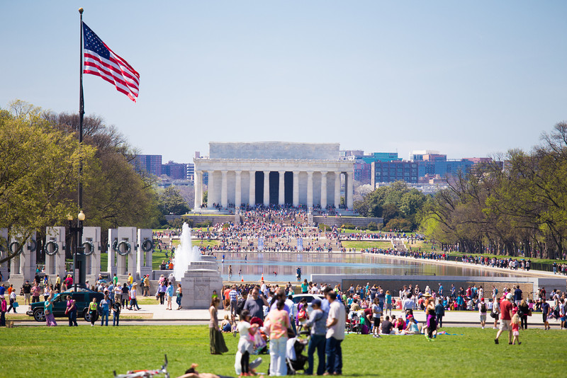 A pleasant day on the National Mall.