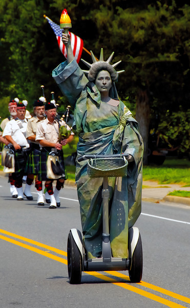 Lady Liberty - 4th of July Parade - Irvington, VA