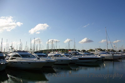 Pretty Yachts  - All in a Row