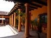 Arrival to San Cristóbal, an absolute gem of colonial town in the Chiapas highlands. My small colonial style hotel had a lovely courtyard.