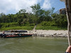 Arrival to Yaxchilan.