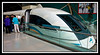 The maglev is futuristic looking...