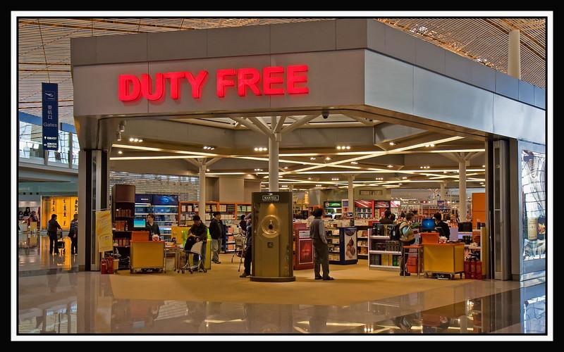 Duty Free shop...