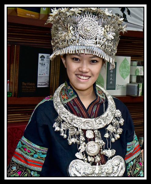 Ethnic garb...