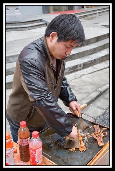 Street food.