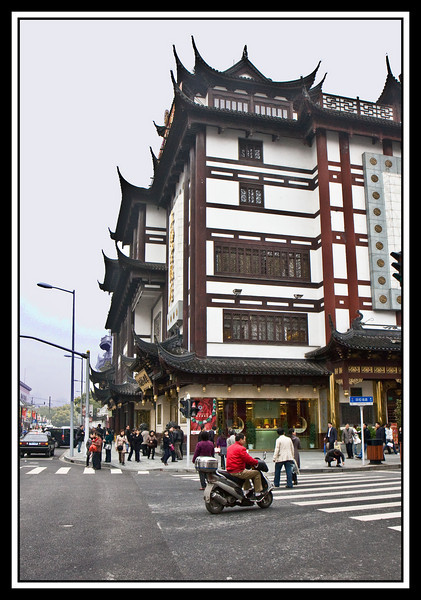 Street corner...