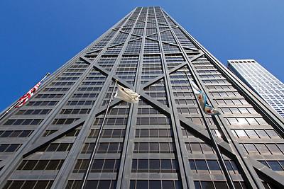 John Hancock Center with 100 floors.