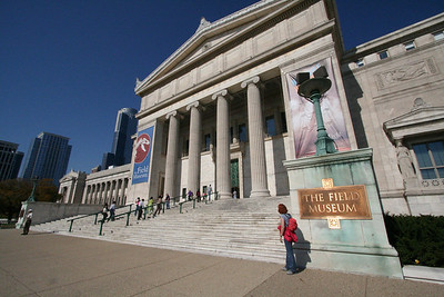 The field Museum of Natural History.  Spectacular facade.