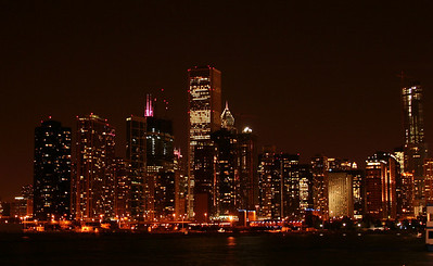 Night shot from the Navy Pier.
