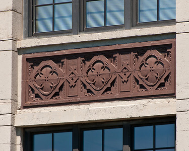 Detail from the old Montgomery Ward building.