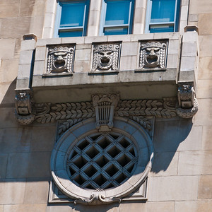 Detail from the Civic Opera Building
