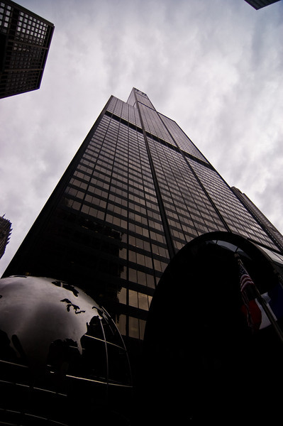 Title: World's Height<br /> Date: November 2010<br /> Sears Tower (or Willis Tower) in downtown Chicago.