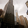 Title: Skyscrapers of Chicago<br /> Date: November 2010<br /> One of the skyscrapers in downtown Chicago.