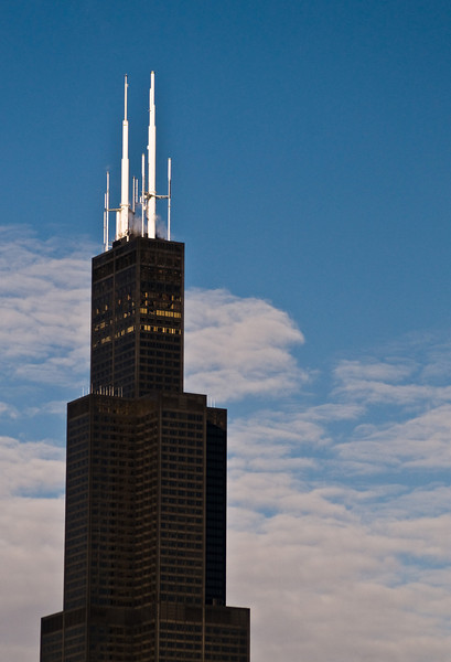 Title: Tower in Winter<br /> Date: November 2010<br /> The Sears Tower (Willis Tower)