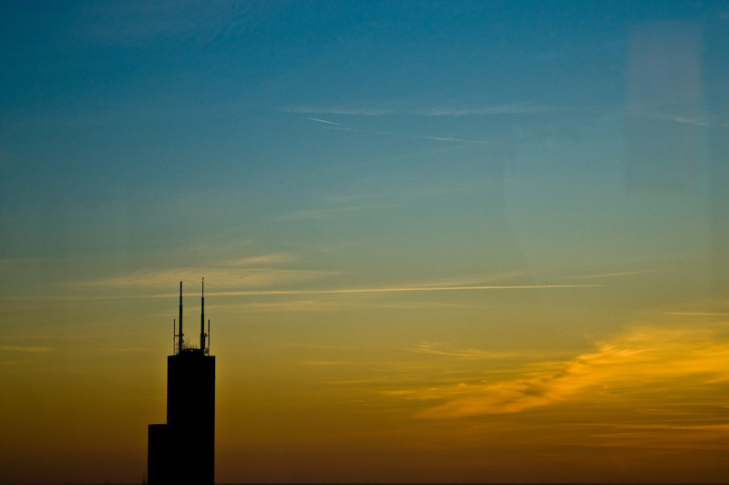 Title: Chicago Space<br /> Date: November 2010<br /> The Sears Tower (Willis Tower)