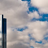 Title: Reflecting the Sky<br /> Date: November 2010<br /> A skyscraper along the Chicago skyline.