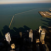 Title: Shadow Building<br /> Date: November 2010<br /> From the observation deck of the John Hancock Building, looking east.