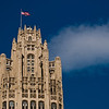 Title: The Gum Tower<br /> Date: November 2010<br /> The Wrigley Building in downtown Chicago.