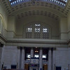 The waiting room inside Union Station.