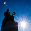 Title: Copernicus<br /> Date: November 2010<br /> The statue of Nicolaus Copernicus outside the Adler Planetarium.