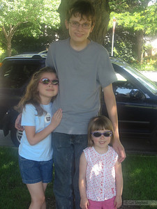Liam, Madeline and Lizzie