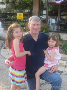 Uncle Craig, Madeline and Lizzie
