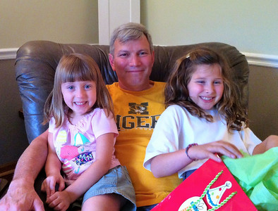 Uncle Craig and the girlies