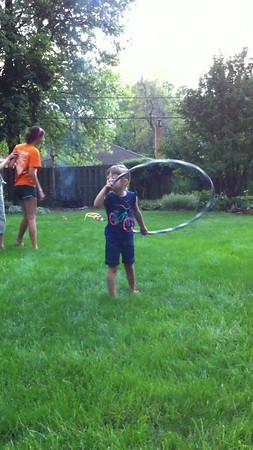 The one where she learns to hula hoop