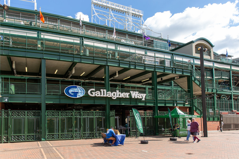 Gallagher Way at Wrigley Field