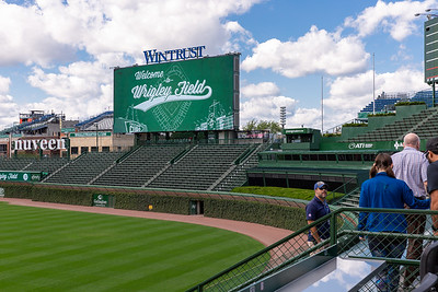 The Bleachers at Wrigley Field