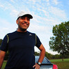 There were a few joggers in the park.  Including, unbelievably, Ravi - who I happened to sit next to on the plane from Seattle!  He works at Microsoft in the Chicago area and was in Seattle on business. In all of Chicago, I see him on my second day here.  Let's see if I also run into Patricia O'Brien, my other seatmate on the plane.
