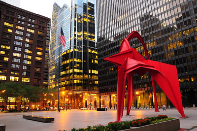Chicago - Privately owned public plazas