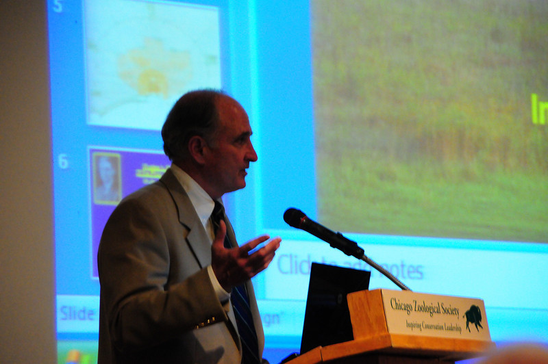 Dr. David Orr spoke about Climate Change.